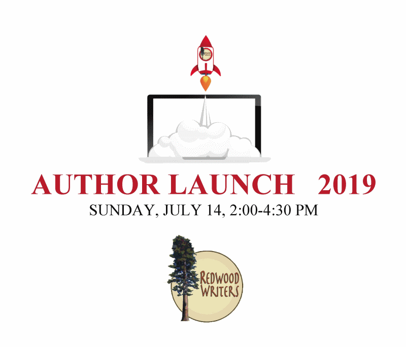 2019 Redwood Writers Author Launch Logo